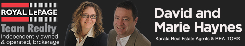 David and Marie Haynes, Kanata Real Estate Sales Representatives