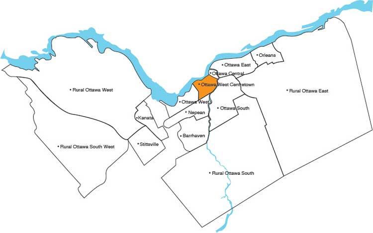 Ottawa West Centretown